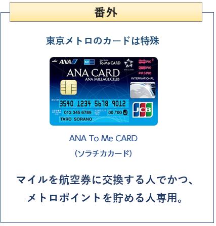 ANA To Me CARD(ソラチカカード)は特殊