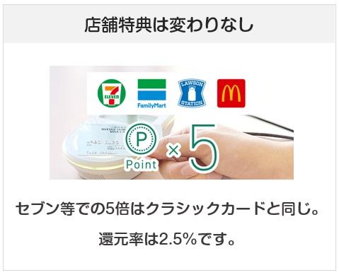 三井住友カードのエブリプラスのポイントアップ店での付与について