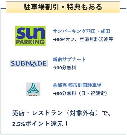 イオン首都高カードは駐車場割引もある