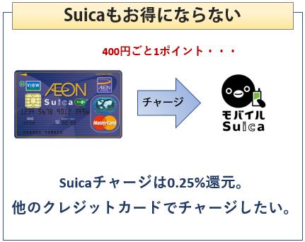 イオンSuicaカードはSuicaもお得にならない