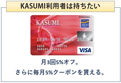 KASUMIカードはカスミ利用者は持ちたい