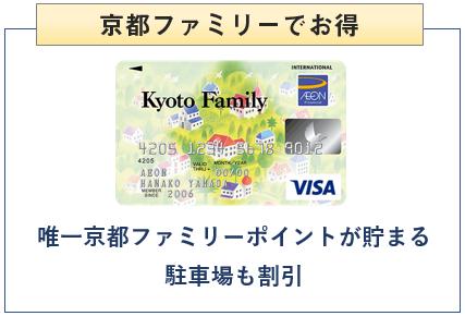 京都ファミリーカードは京都ファミリーでお得
