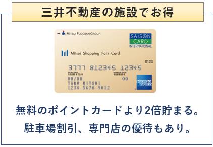 三井ショッピングパークカードは三井不動産の施設でお得