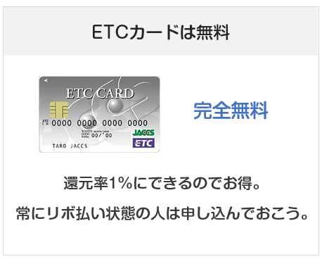 R-styleカード(アールスタイルカード)のETCカードについて
