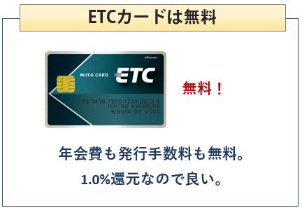 シェルPontaクレジットカードはETCカード無料