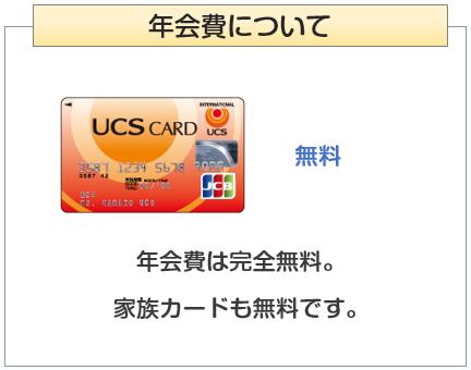 UCSカードの年会費について