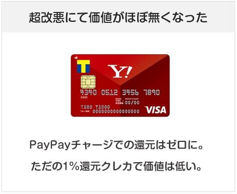 Yahoo! JAPANカードは2020年2月に超改悪