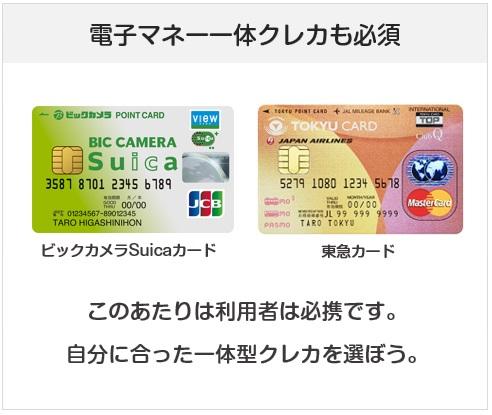 2020年も電子マネー一体型のクレジットカードは持ちたい