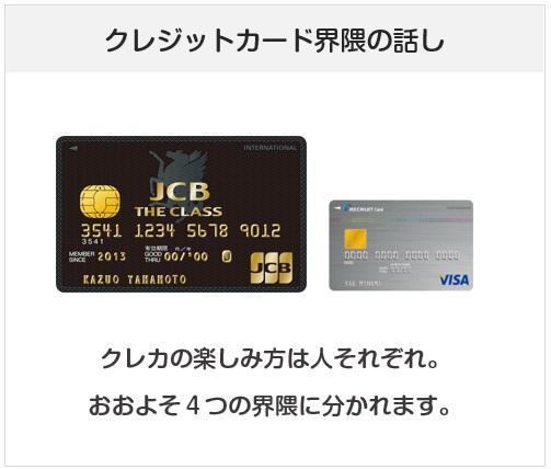 クレジットカード界隈の話し
